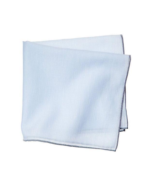 Linen-Cotton Pocket Square picture 1
