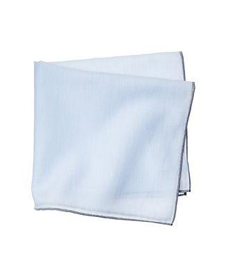 Simonnot Godard Linen-Cotton Pocket Square
