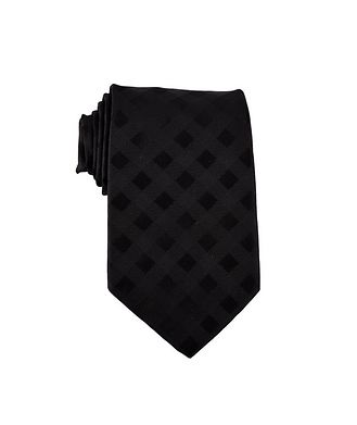 Dion Gingham Check Tie