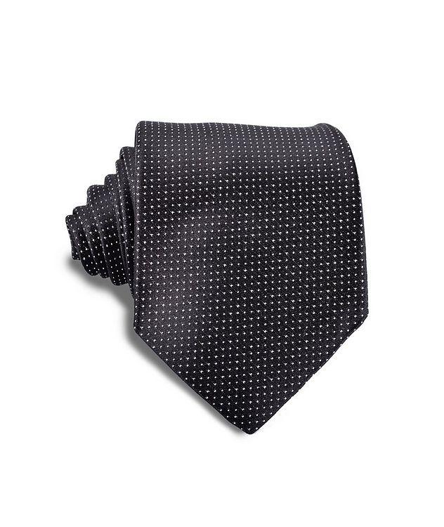 Polka Dot Silk Tie picture 1