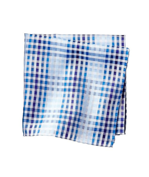 Gingham Cotton Pocket Square picture 1