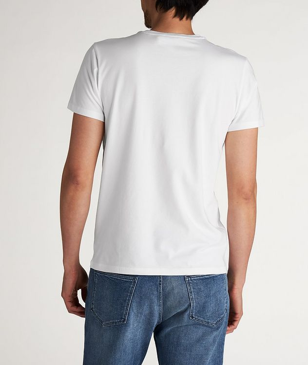 Stretch Crew-Neck T-Shirt picture 2