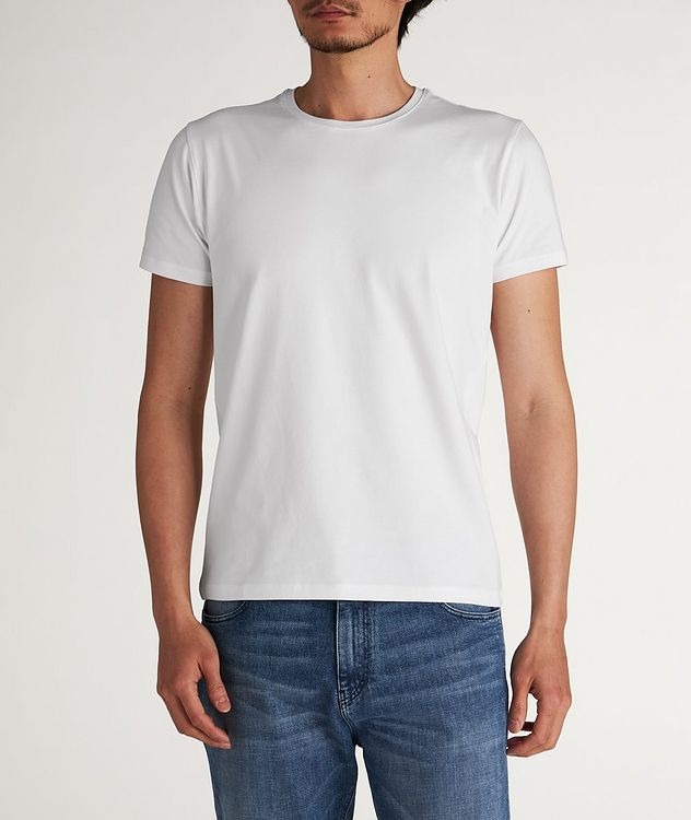 Stretch Crew-Neck T-Shirt picture 1