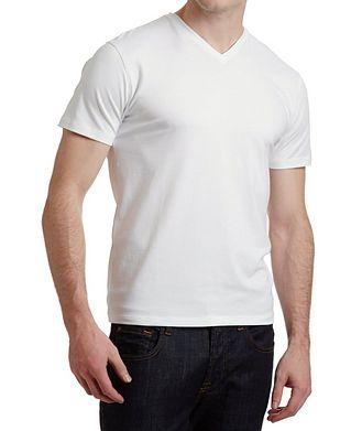 Patrick Assaraf V-Neck T-Shirt