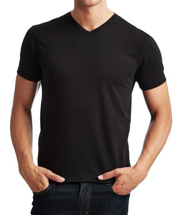 Stretch V-Neck T-Shirt picture 1