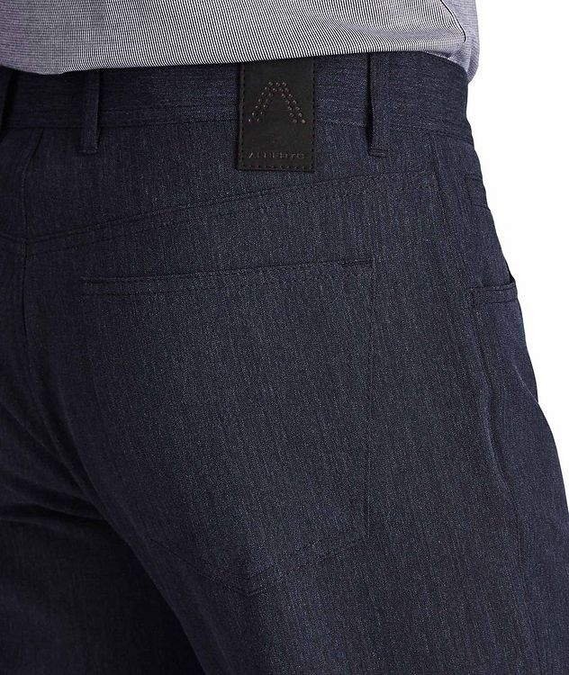 Pantalon en tissu Stone Ceramica de coupe moderne picture 3