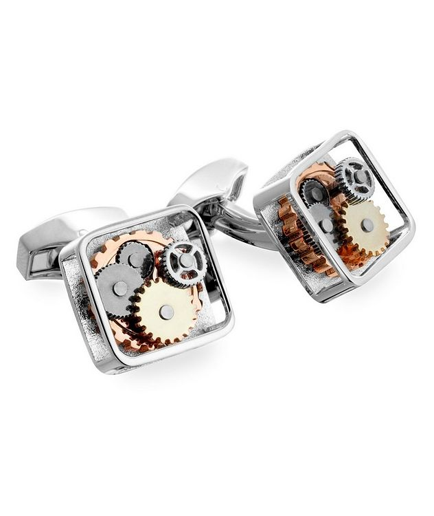 Square Gears Cufflinks  picture 1