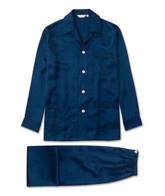 Derek Rose Woburn Silk Pyjamas
