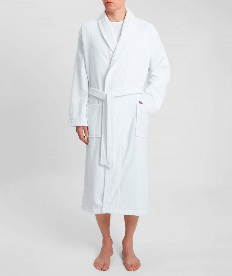 Cotton Velour Robe image 3