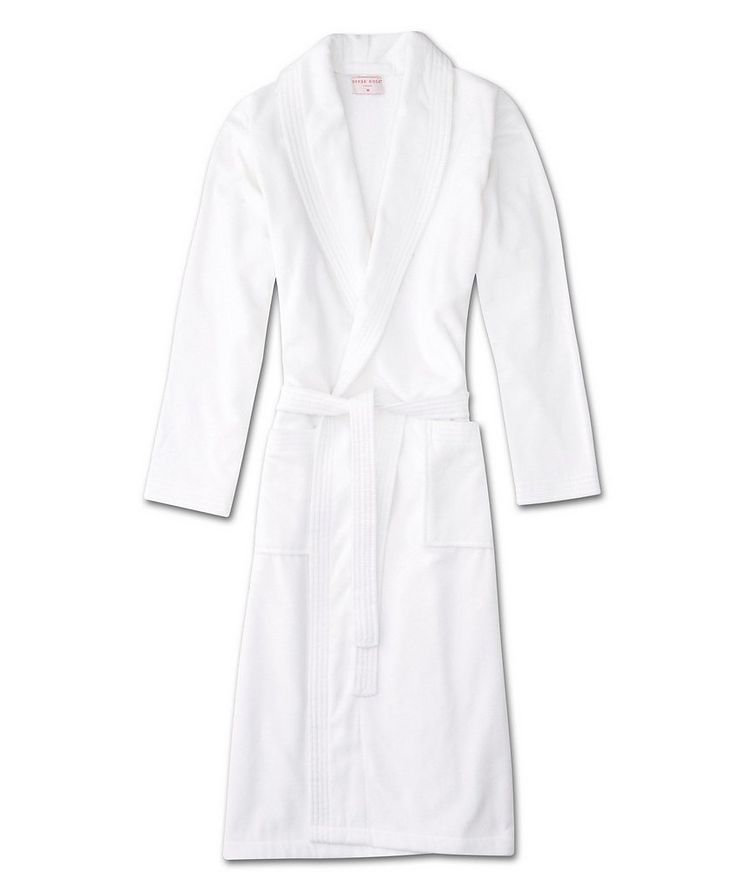 Cotton Velour Robe image 0