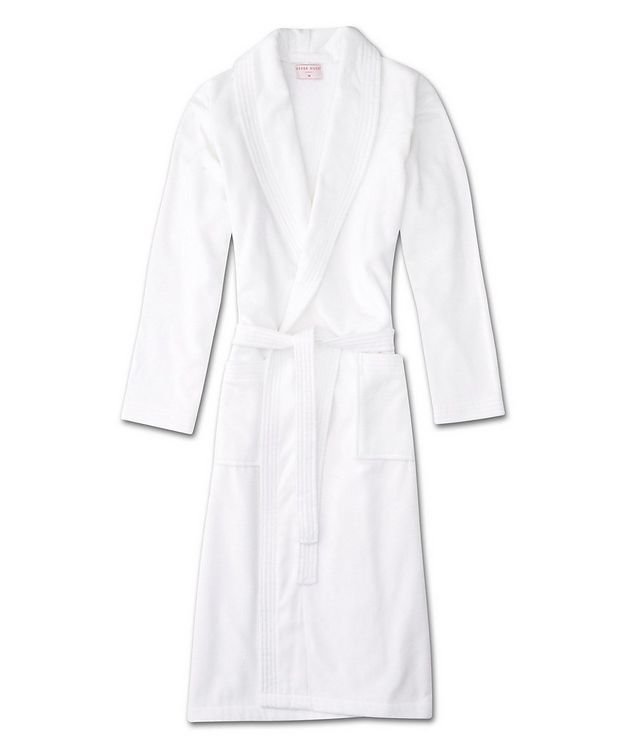 Cotton Velour Robe picture 1