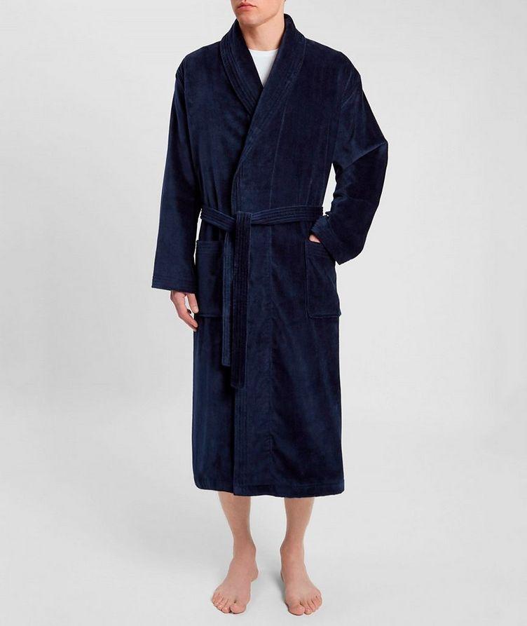 Cotton Velour Robe image 3