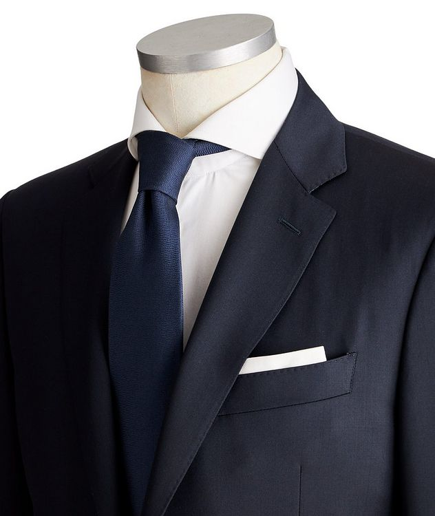 Contemporary Fit Wool Suit picture 2