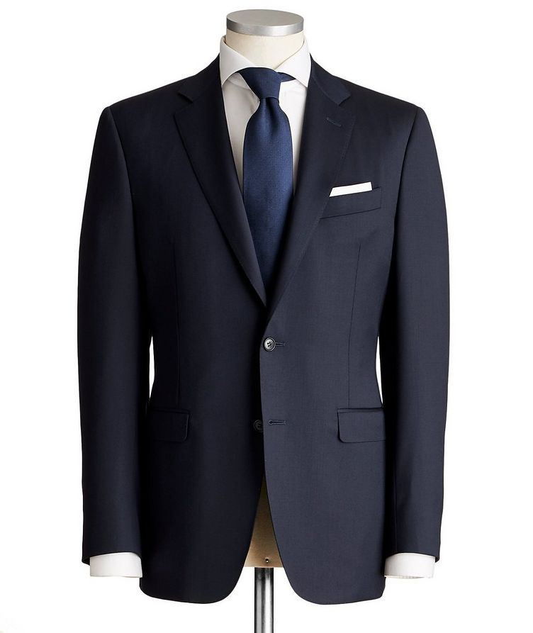 Contemporary Fit Wool Suit image 0