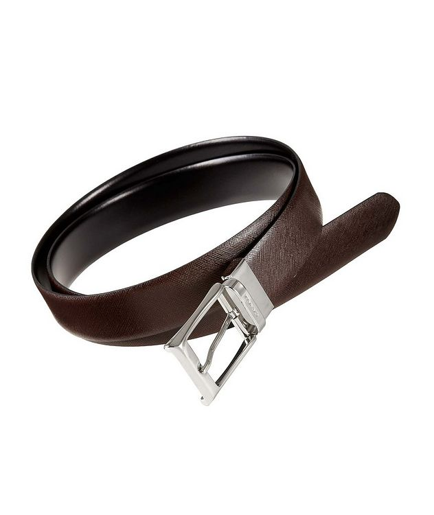 Textured Leather Belt  picture 1
