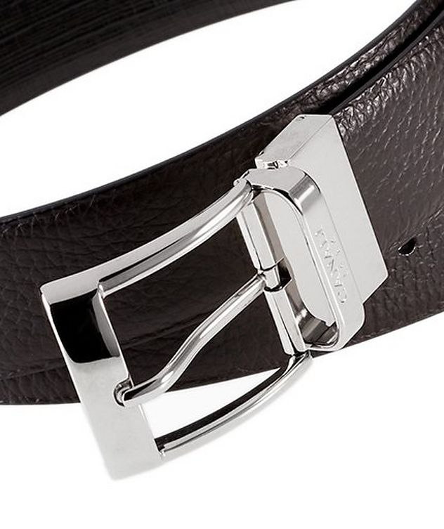 Pebbled Leather Belt picture 2