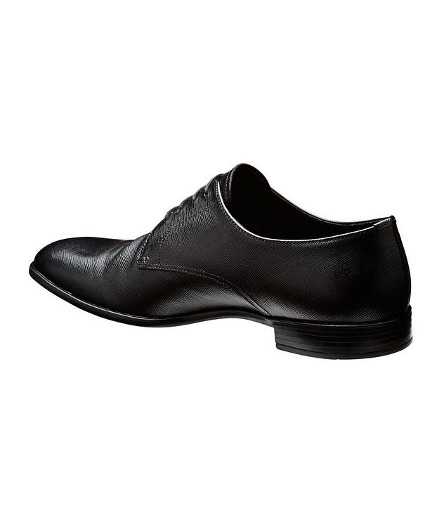 Saffiano Leather Derbies picture 2