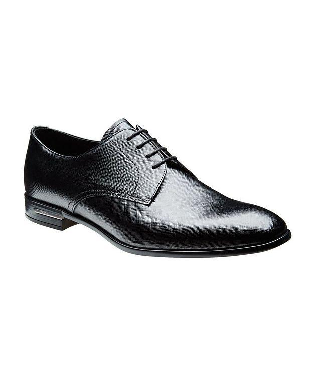 Saffiano Leather Derbies picture 1