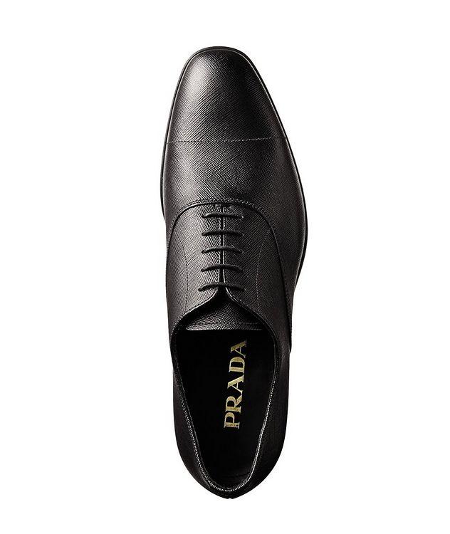 Saffiano Leather Oxfords picture 4