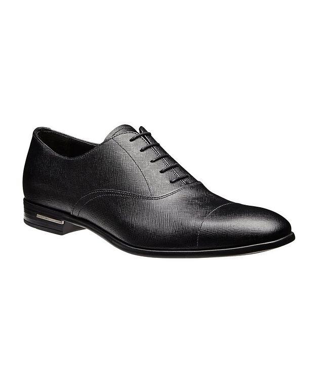 Saffiano Leather Oxfords picture 1