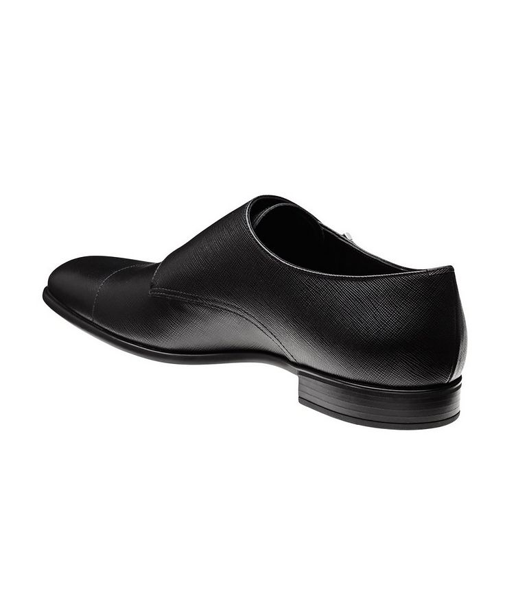 Saffiano Leather Monkstraps  image 1