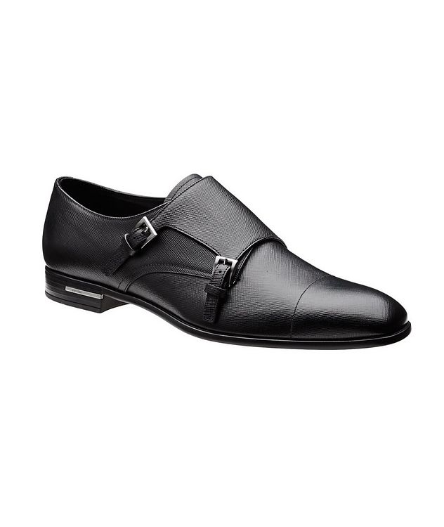 Saffiano Leather Monkstraps  picture 1