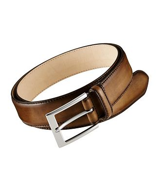 To Boot New York Burnished Leather Belt