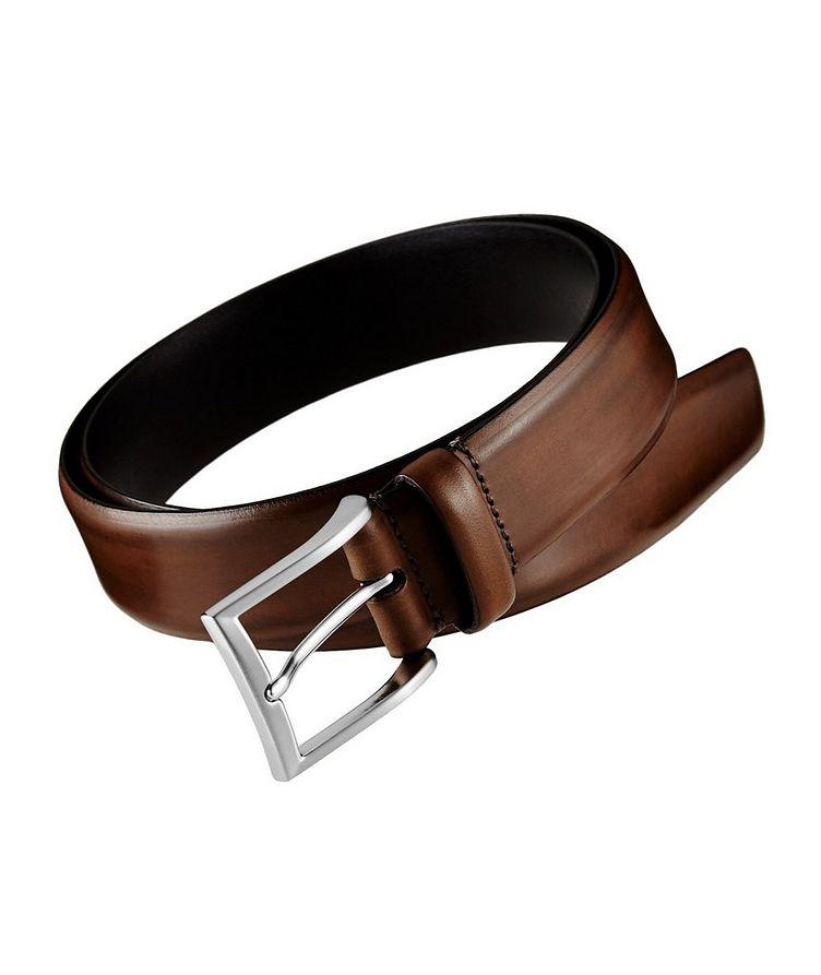 Burnished Leather Belt  image 0