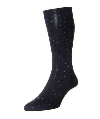 Pantherella Printed Cotton Socks