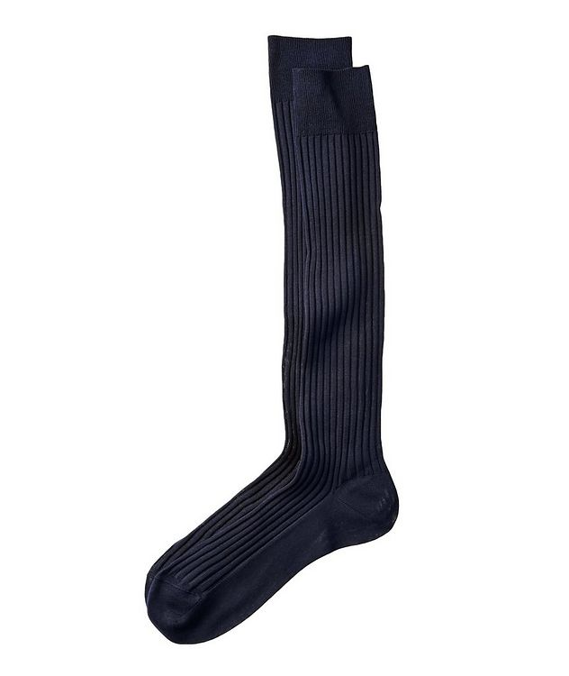 Ribbed Knit Dress Socks picture 1