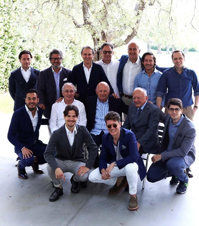 Gran Sasso three-generation family
