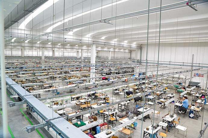 Gran Sasso's state-of-the-art production facility