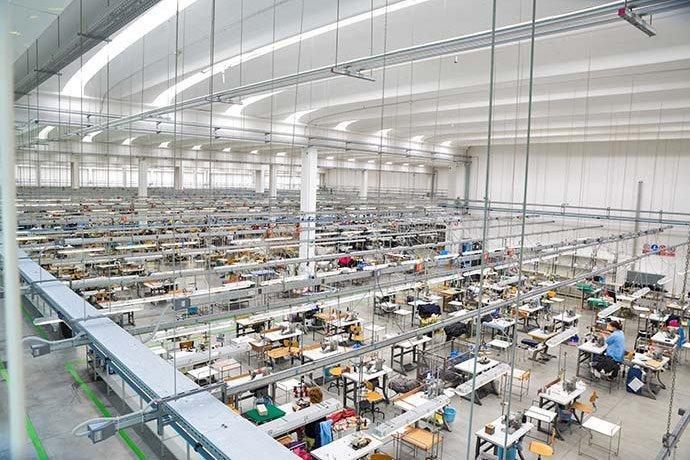 Les installations de production de pointe Gran Sasso