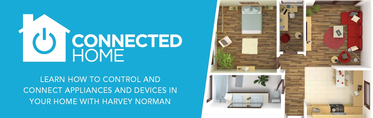 Make your home a connected home with harvey norman integrate the technology that fills your daily life into a seamless efficient and intuitive whole by