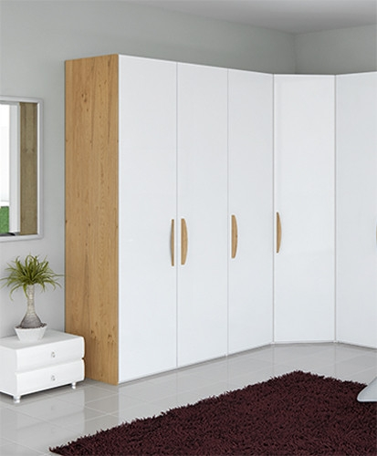Wardrobes 2 Door Double Wardrobe Mohogany Effect Bedroom Furniture Cupboard Moderate Price