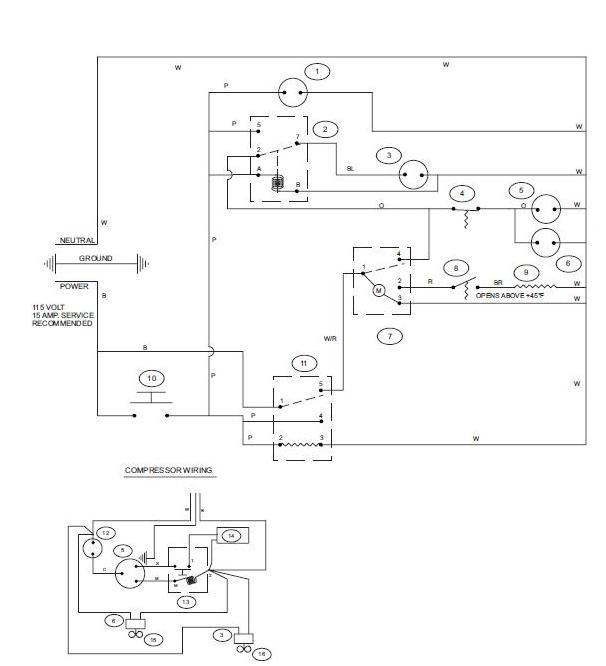 Compressor Wiring Diagram Single Phase