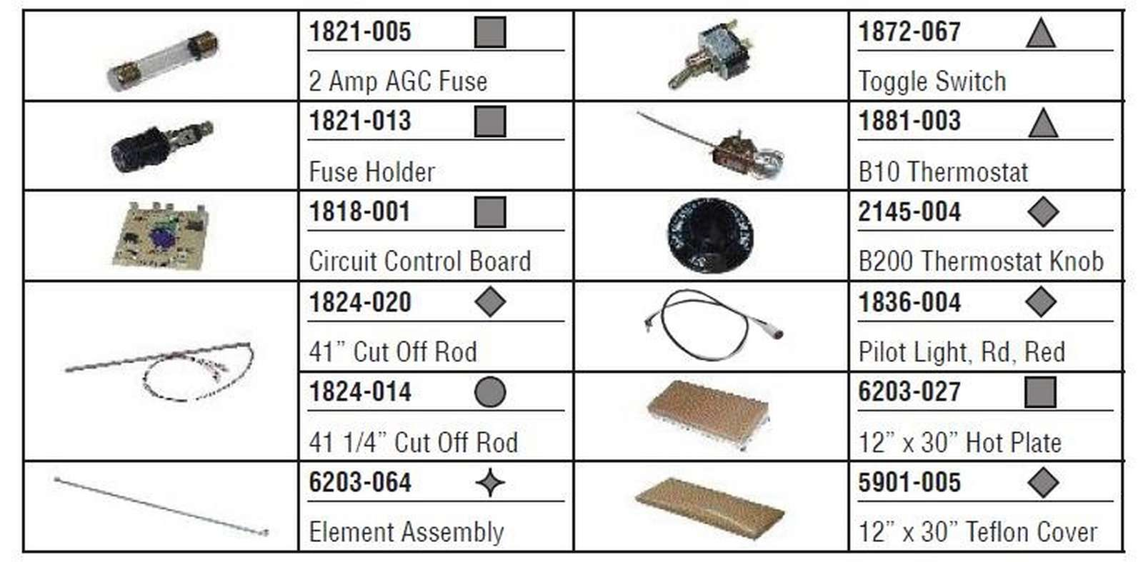 Commercial Kitchen Oem Replacement Parts Heritage Rite Boiler Wiring Diagram Ipd 580017 370161