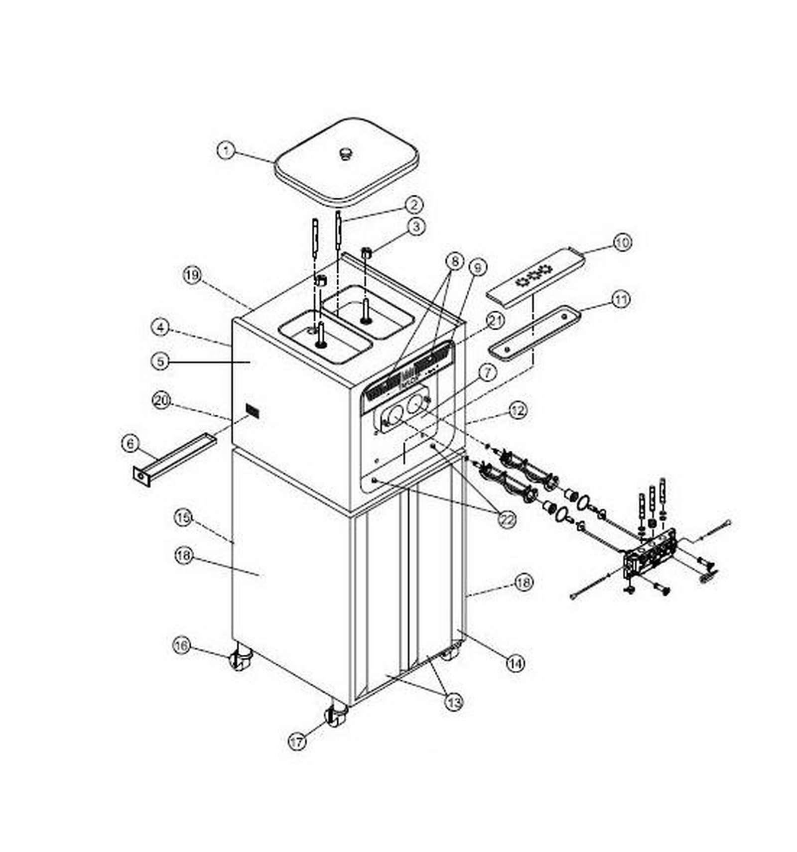 Krystal Universal Multiflex Frigidaire Electric Dryer Wiring Diagram Parts Ipd 6190 195709