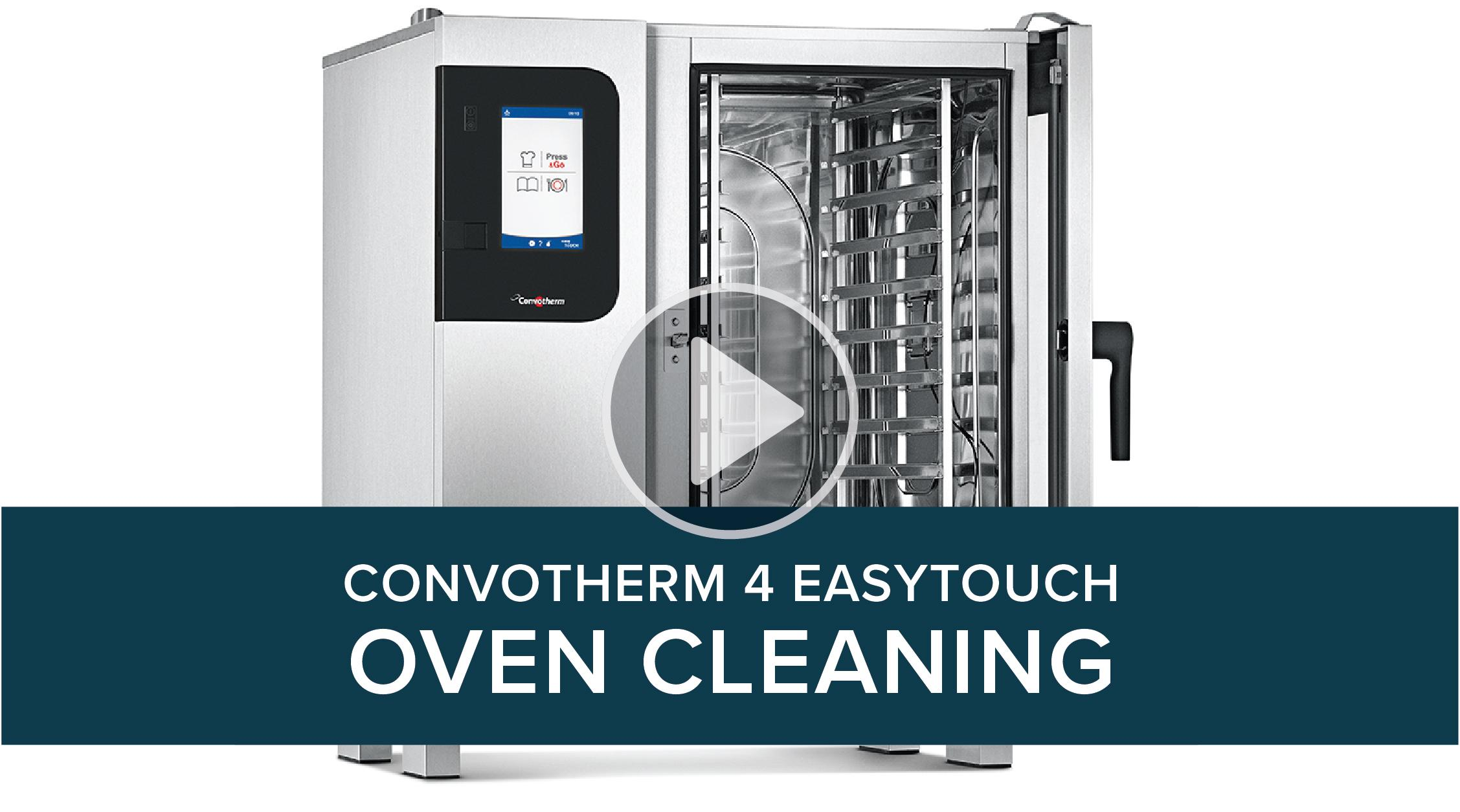 Convotherm 4 easyTouch Cleaning Process