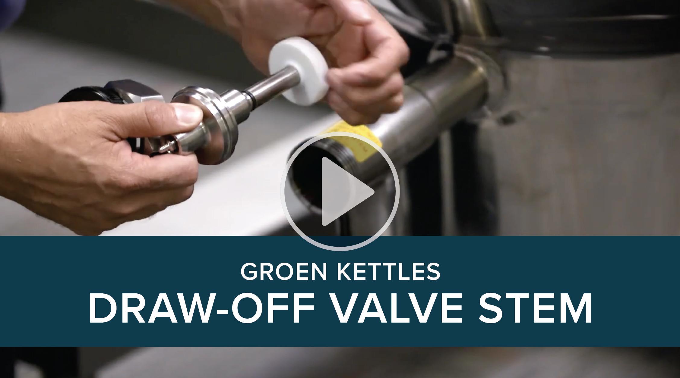 Groen Kettles Draw-off Valve
