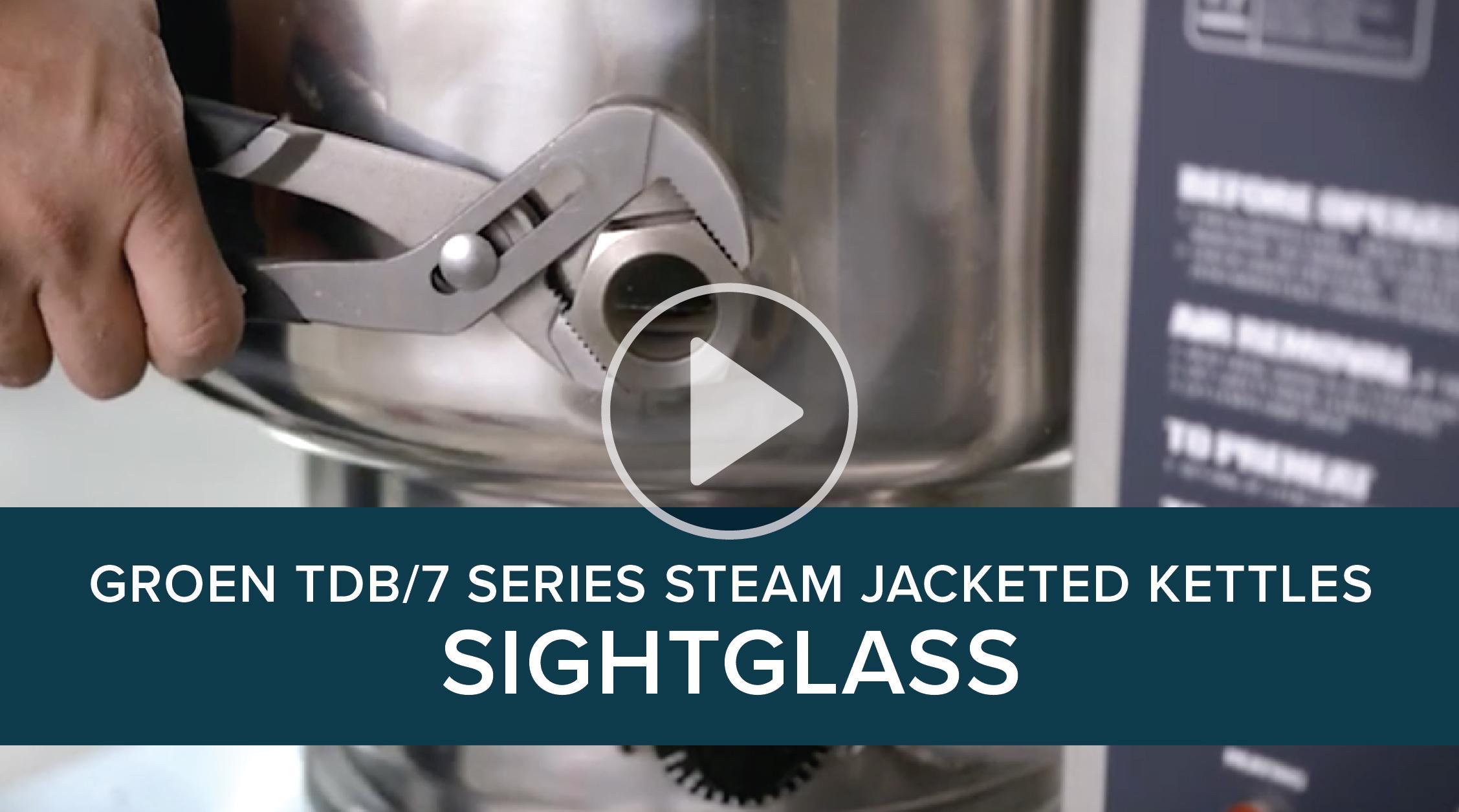 Groen TDB/7 Series Steam Jacketed Kettles