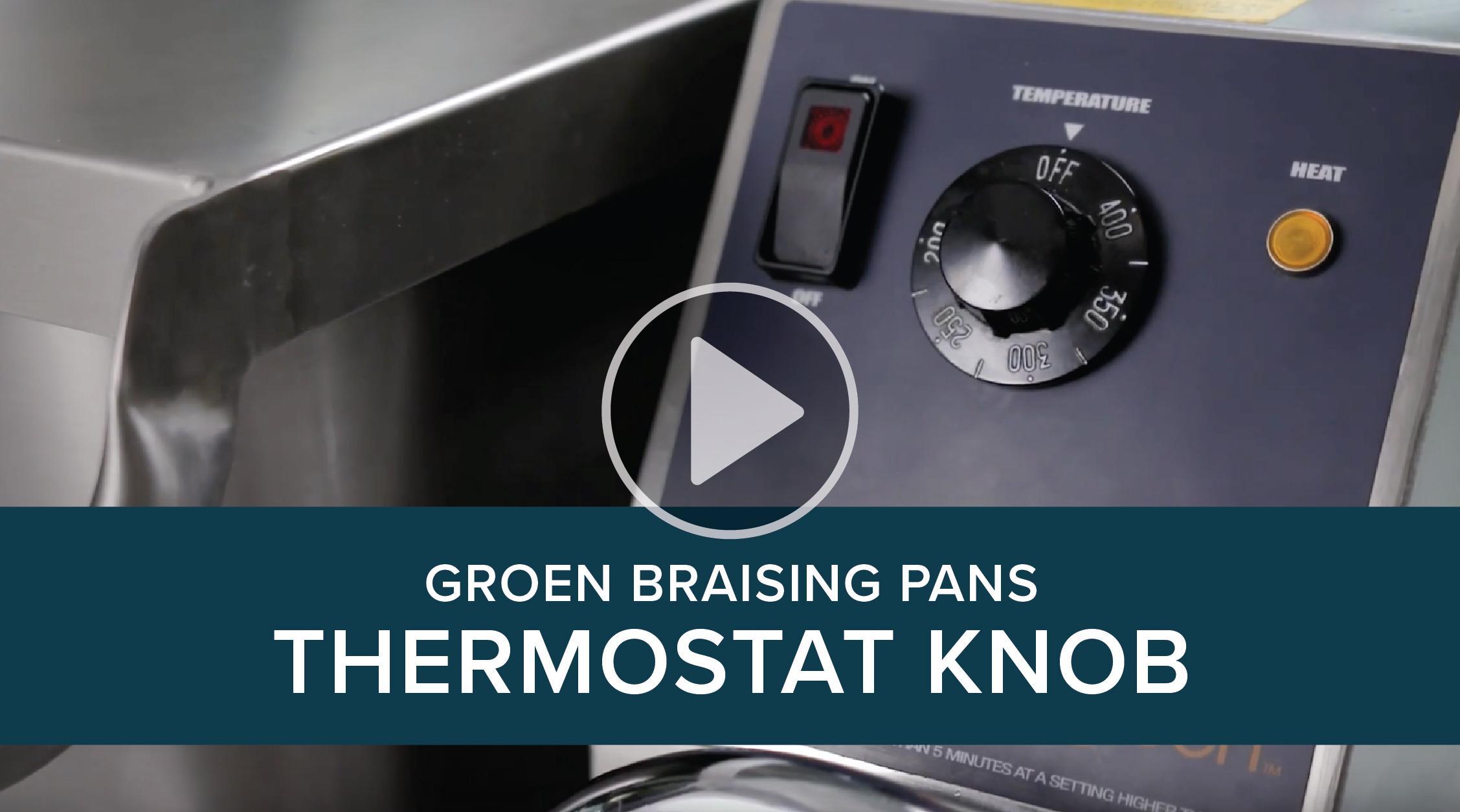 Groen Braising Pans Thermostat Knob