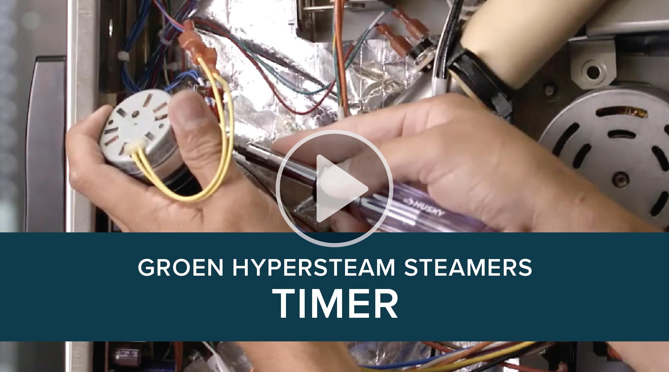 Groen Hypersteam Steamer Replacement Timer