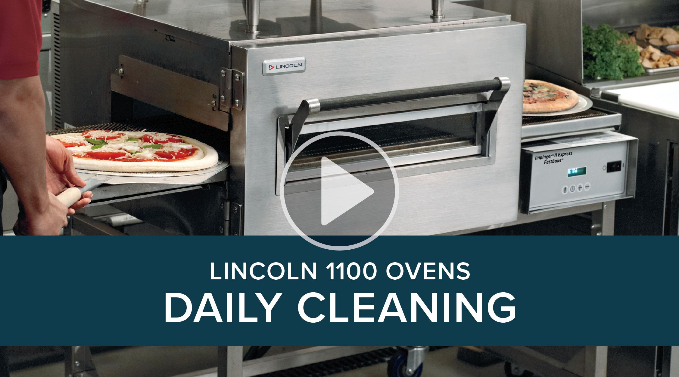Daily Cleaning Lincoln 1100