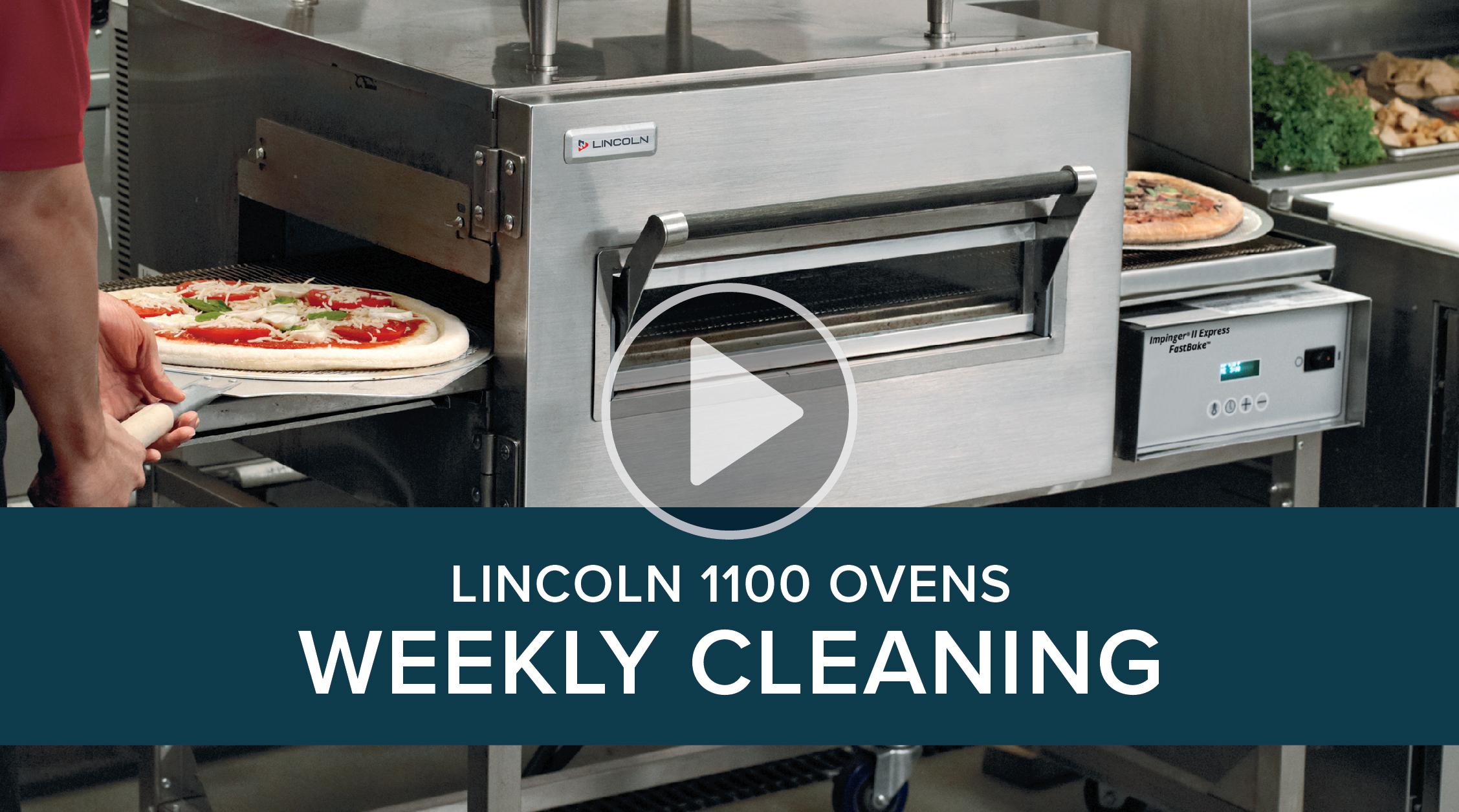 Weekly Cleaning Lincoln 1100