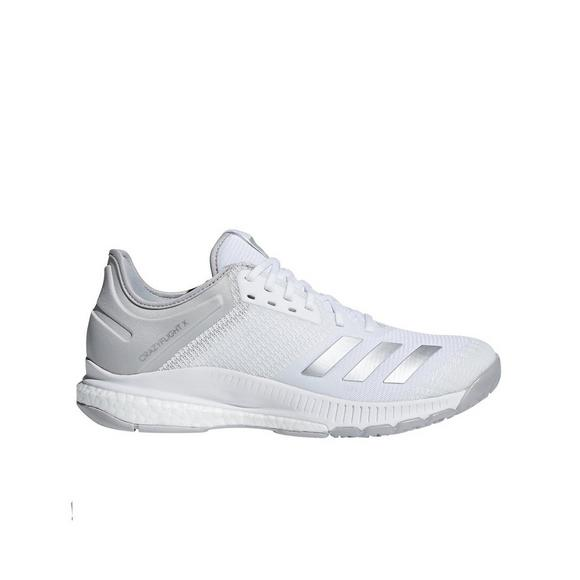 huge selection of 0f4ef 0aedf ... coupon code for adidas crazyflight x 2 white silver womens volleyball  shoe main container image cb7c3
