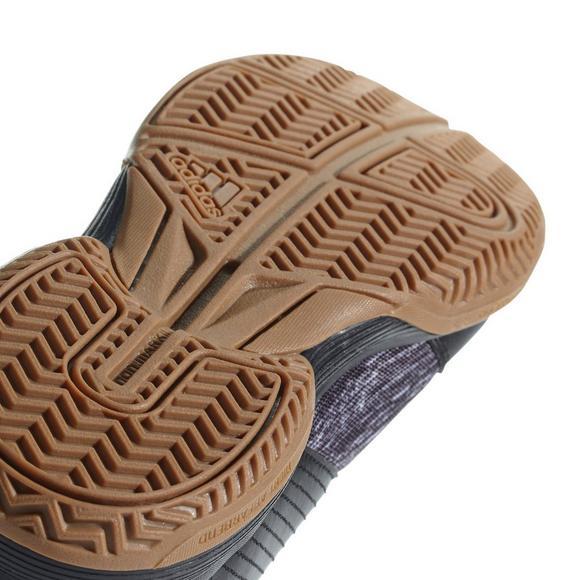 adidas / ligra noir / adidas argent nous volley féminin chaussure hibbett 9018fd