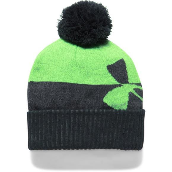 66a1c1bf762 Under Armour Boys  Pom Beanies - Main Container Image 3