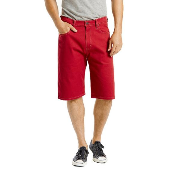 2450ddedb5d Levi's Men's 569 Loose Straight Shorts- Red - Main Container ...