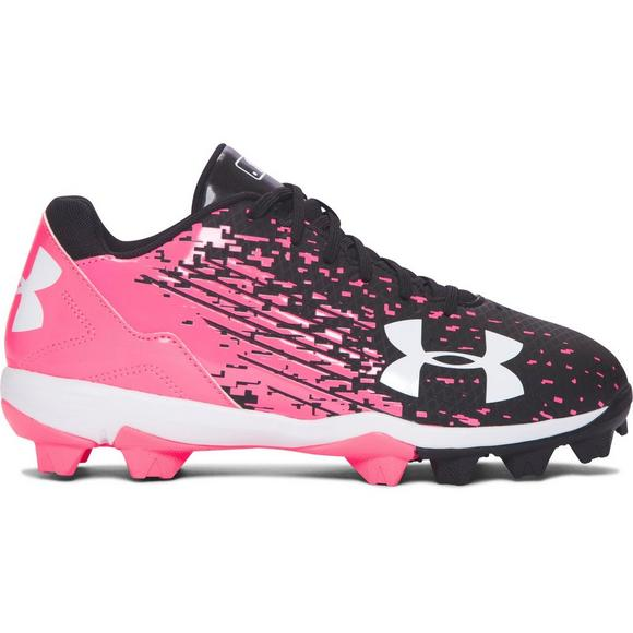 609dcaefab1 Under Armour Leadoff Low Grade School Girls  Softball Cleats - Main  Container Image 1
